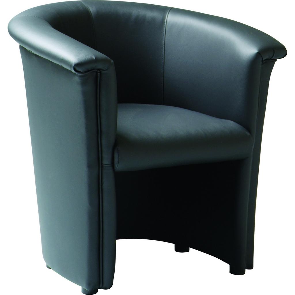 Zwarte Lounge Stoel.Lounge Stoel Venus E539b